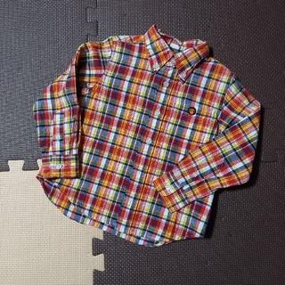 A BATHING APE - ベイプキッズ チェックシャツ