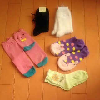 チュチュアンナ(tutuanna)の近々出品終了 未使用品あり 靴下セット(ソックス)