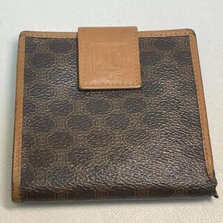 セフィーヌ(CEFINE)のセリーヌ 二つ折り財布 マカダム ブラゾン  PVC\レザー ブラウン(財布)