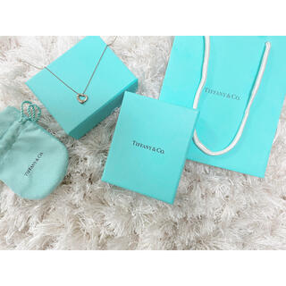 Tiffany & Co. - Tiffany ネックレス オープンハート