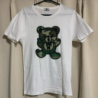 HYSTERIC GLAMOUR - HYSTERIC GLAMOUR カモフラ ベア Tシャツ ヒステリックグラマー