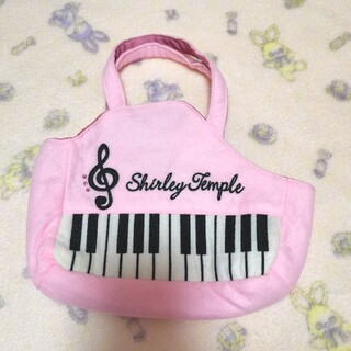 シャーリーテンプル(Shirley Temple)の135【未使用】シャーリーテンプル ピアノバッグ ピンク(ポシェット)