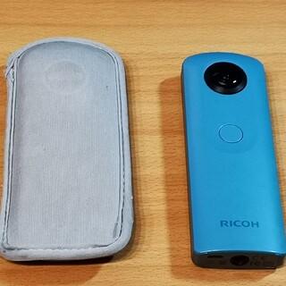 リコー(RICOH)のRICOH THETA  SC ブルー(コンパクトデジタルカメラ)