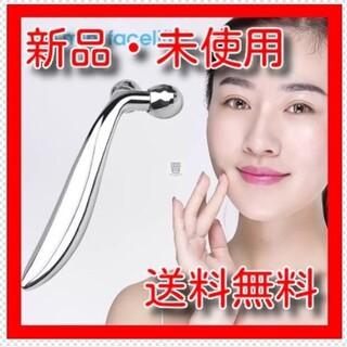 【新品】★3Dミニ美顔ローラー★血行促進3D美顔ローラー(フェイスローラー/小物)