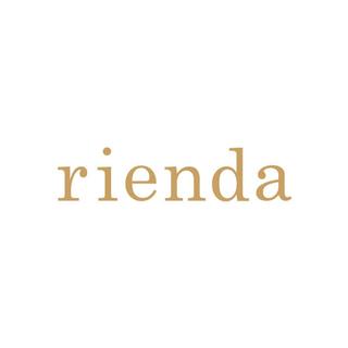 rienda - rienda♡Bicolor Knit Slit TOP-R♡カーキ