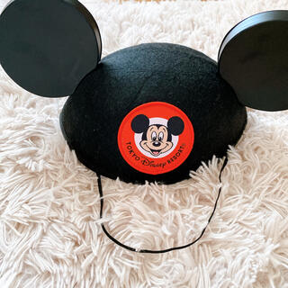 ディズニー(Disney)のディズニー ミッキー イヤーハット 大人(ハット)