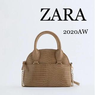 ZARA - 【未使用品】ZARA ザラ アニマル柄ミニボストンバッグ