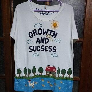 ラフ(rough)のrough ラフ アヒル親子 Tシャツ(Tシャツ(半袖/袖なし))