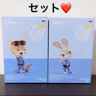 ディズニー(Disney)のディズニーキャラクターズ ズートピア フィギュア セット(アニメ/ゲーム)