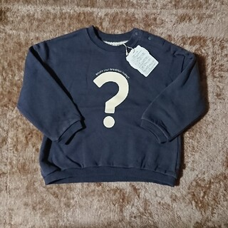 シマムラ(しまむら)の【新品未使用】テータテートトップス90ネイビー(Tシャツ/カットソー)
