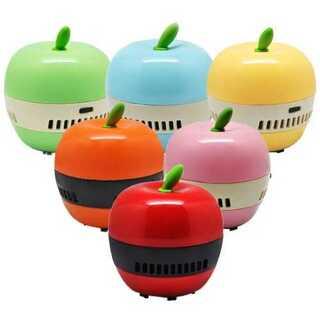 レッド卓上クリーナー リンゴ型(レッド)(T)(掃除機)