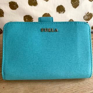Furla - FURLA 財布 フルラ 二つ折り財布 ターコイズブルー ウォレット ブルー