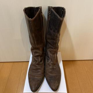 イン(YIN)の☆定価38000円YIN・高級皮革ブーツ37☆MADE IN ITALY☆(ブーツ)