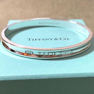 ティファニー(Tiffany & Co.)のティファニー 1837 ナロー バングル スターリングシルバー925(バングル/リストバンド)