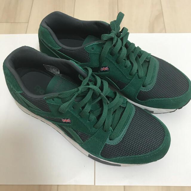 Reebok(リーボック)の値下げしました。Reebok グリーン メンズの靴/シューズ(スニーカー)の商品写真