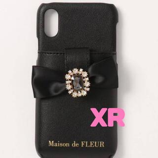 メゾンドフルール(Maison de FLEUR)のお値下げ致しました!Maison de FLEUR ビジューリボンポケット(iPhoneケース)
