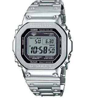 ジーショック(G-SHOCK)の【新品・未開封】G-SHOCK GMW-B5000D-1JF シルバー カシオ(腕時計(デジタル))