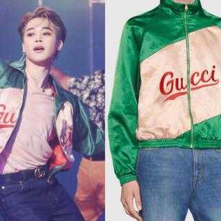 Gucci - GUCCI BTS ジミン着用 スクリプト ジャケット グッチ