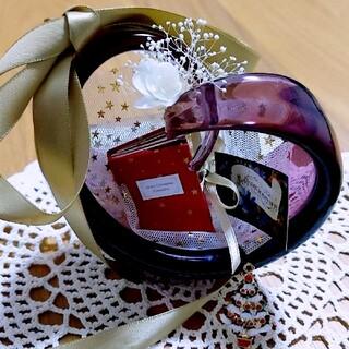 スガハラ(Sghr)のハート 一輪挿し ガラス sghr(花瓶)