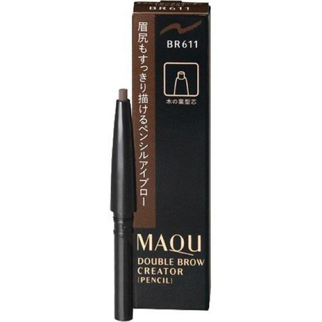MAQuillAGE(マキアージュ)のマキアージュダブルブロークリエーター(ペンシル)BR611新品未使用未開封2本組 コスメ/美容のベースメイク/化粧品(アイブロウペンシル)の商品写真
