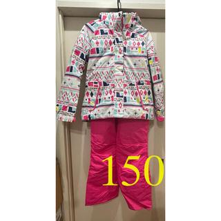 ROSSIGNOL - ☆美品☆ロシニョール スキーウェア キッズ 女の子 150cm
