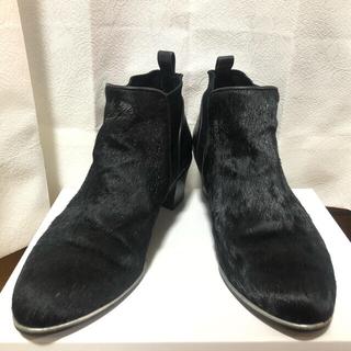 サヴァサヴァ(cavacava)のapres cavacava サヴァサヴァ ハラコ ショートブーツ 24cm(ブーツ)