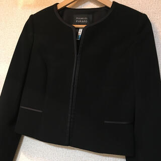 着用3回 ブラックフォーマル ジャケットのみ 喪服(ノーカラージャケット)