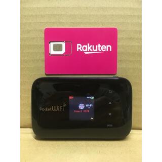 ラクテン(Rakuten)の楽天UN-LIMIT 設定済 SIMフリーWiFiルーター 大容量バッテリー(スマートフォン本体)