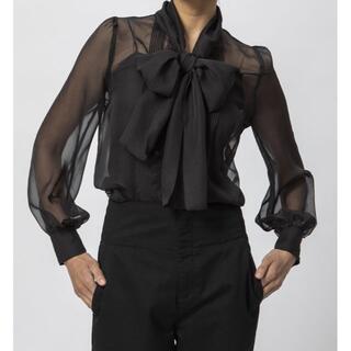 DOUBLE STANDARD CLOTHING - 早い者勝ち❣️割引❣️ダブスタ シースルーオーガンジーブラウス