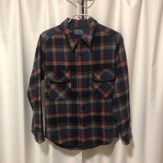 ペンドルトン(PENDLETON)のPENDLETON ネルシャツ 70s - 80s アメリカ製(シャツ)