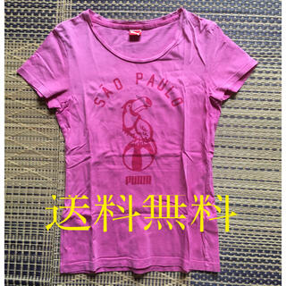 プーマ(PUMA)の[送料無料]  PUMA  レディスTシャツ Sサイズ(Tシャツ(半袖/袖なし))