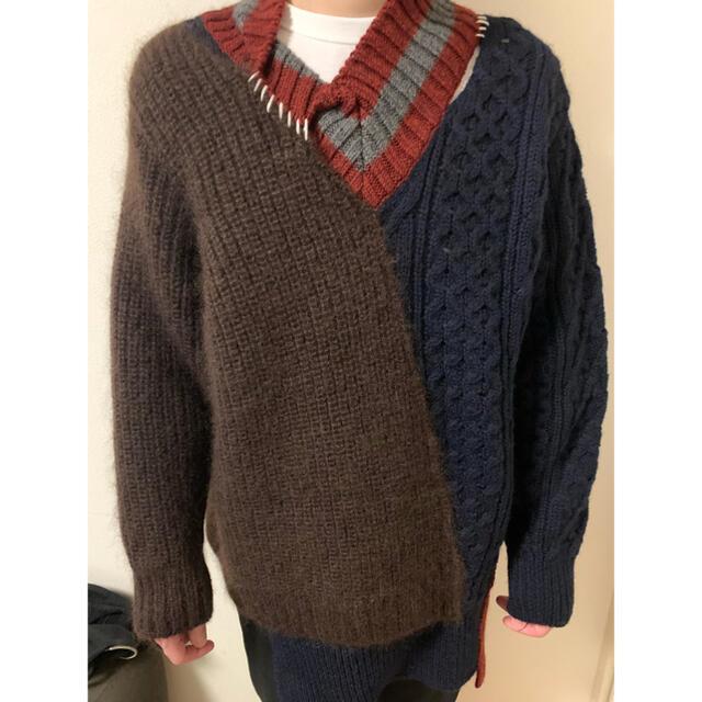 kolor(カラー)のkolor 20aw knit 3 メンズのトップス(ニット/セーター)の商品写真