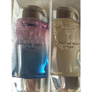 イプサ(IPSA)のイプサ ザ・タイムリセットアクア限定ボトル2本セット(化粧水/ローション)