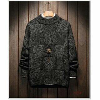 セーター メンズ 大きいサイズ ニット Vネック クルーネック(ニット/セーター)