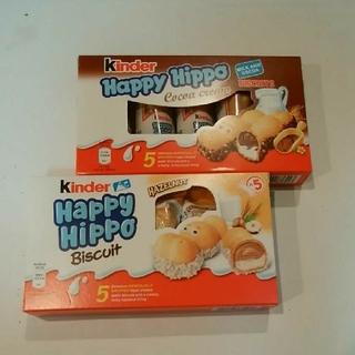 カルディ(KALDI)のハッピーヒッポ ココアとホワイト(菓子/デザート)