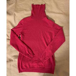 UNIQLO - ユニクロ カシミヤセーター サイズM ピンク