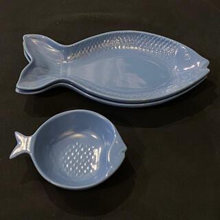 イッタラ(iittala)のunicom 魚型 皿 小皿 セット(食器)