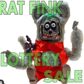 シークレットベース(SECRETBASE)のBrother Rat Fink SHELTERBANK  SECRETBASE(キャラクターグッズ)