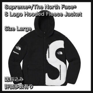 THE NORTH FACE - 【L】S Logo Hooded Fleece Jacket