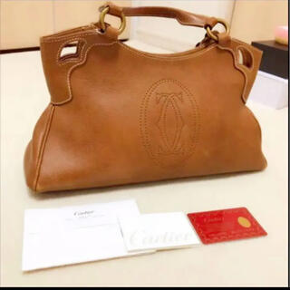 カルティエ(Cartier)の【Cartier】マルチェロドゥカルティエ(ハンドバッグ)