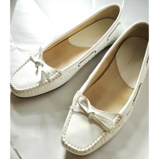 リーガル(REGAL)のリーガル  ローファー  パンプス  ホワイト 白 (ローファー/革靴)