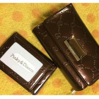 ピンキーアンドダイアン(Pinky&Dianne)の ピンキー&ダイアンPinky&Dianne牛革折財布(財布)