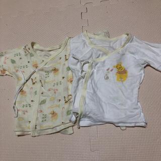 ディズニー(Disney)の新生児肌着 短肌着 2枚セット(肌着/下着)