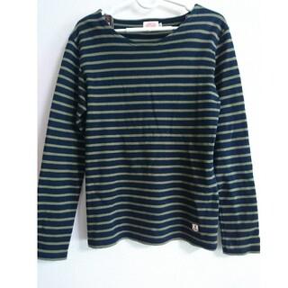 アルモーリュックス(Armorlux)のアルモリュクス 長袖 ボーダーカットソー フランス製(Tシャツ(長袖/七分))
