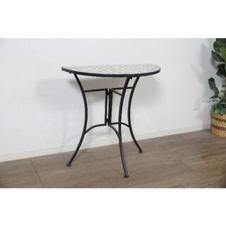 新品・未使用 ガーデンテーブル アウトドア ハーフ