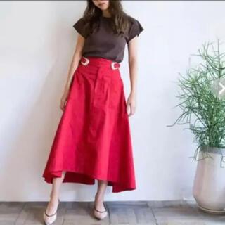 シールームリン(SeaRoomlynn)のシールームリン ウエストバックルアシメスカート Sサイズ(ロングスカート)
