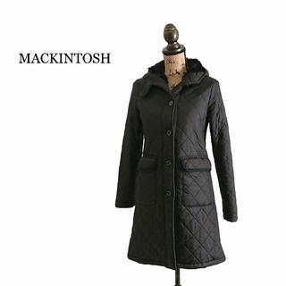 マッキントッシュ(MACKINTOSH)のMACKINTOSH マッキントッシュ コート ブラック レディース ボア(ロングコート)