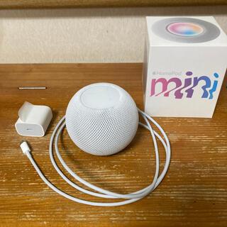 アップル(Apple)のApple HomePod mini MY5H2J/A ホワイト(スピーカー)