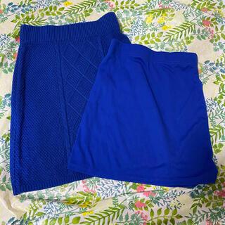 ウィゴー(WEGO)のインナー付きニットタイトスカート(ミニスカート)