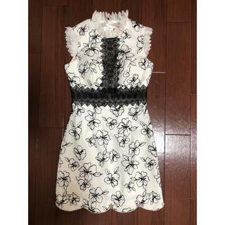 ROBE - robe de fleurs キャバドレス  M